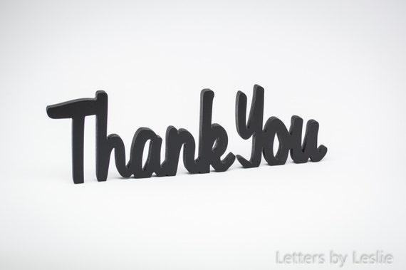 Wedding Signs, Thank You, Wedding Table Decor, Wooden Sign, Wooden Letters, Thank You Sign, Bridal Shower Sign, Wedding Decor