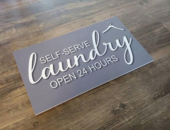 Laundry Sign, Laundry Room Wall Art, Laundry Room Decor,
