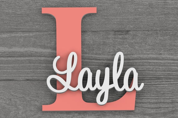 Nursery Wall Art, Name Sign, Nursery Decor, Home Decor, Baby Gift, Name Sign, Nursery Letters, Wall Decor, Wall Letters, Baby