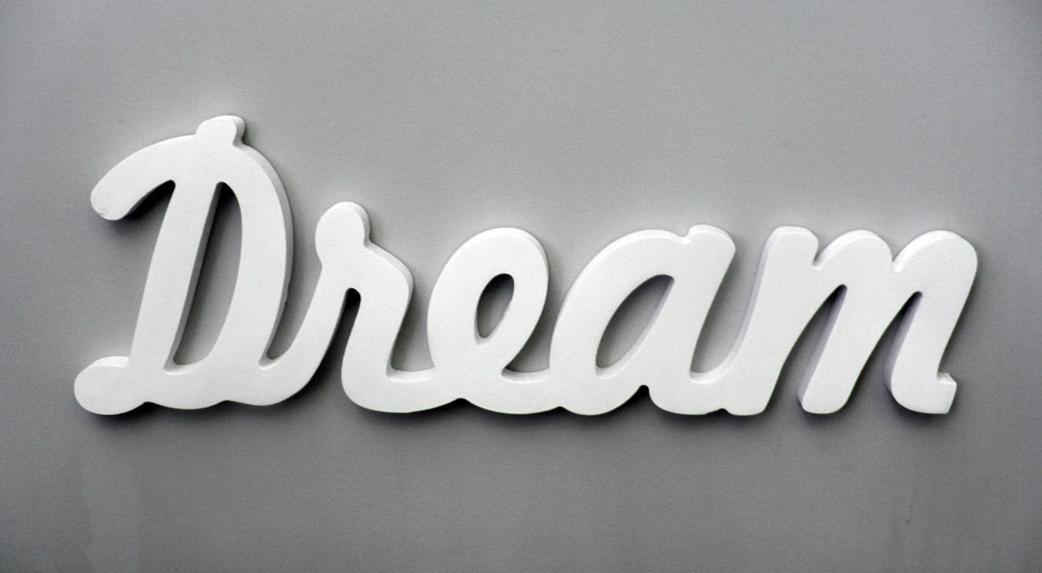 Wooden Inspirational Wall Word, Dream Wall Decor, Bedroom Sign, Bedroom  Decor, Dream Decor, Wood Sign, Nursery Decor, Dream Wall Art