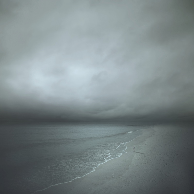 STARING at the SEA CONTEMPORARY Fine Art Photograph Signed Ltd image 0