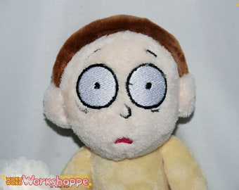 Rick and Morty inspired 35cm (14in) MINKY handcrafted Morty Smith plush