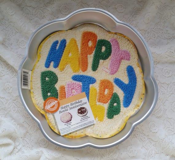 Wilton Fun HAPPY BIRTHDAY Cake Pan