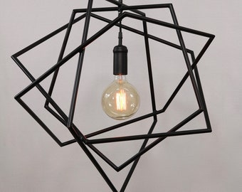 Abstract Pentagon Light Fixture