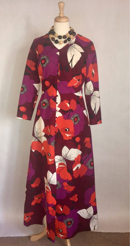 Ultra Funky Flower Power Endora Dress
