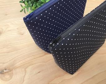 Cosmetic Bag Toiletry Bag Cotton Print