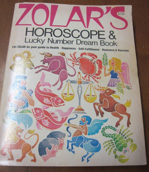 Items Similar To Zolar S Horoscope And Lucky Number Dream