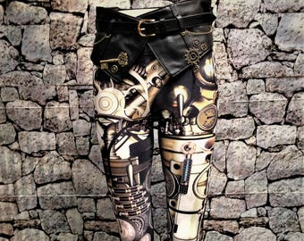 Steampunk leggings and/or belt (#2)  sold separately