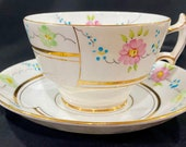 Vintage hand painted Phoenix china teacup and saucer