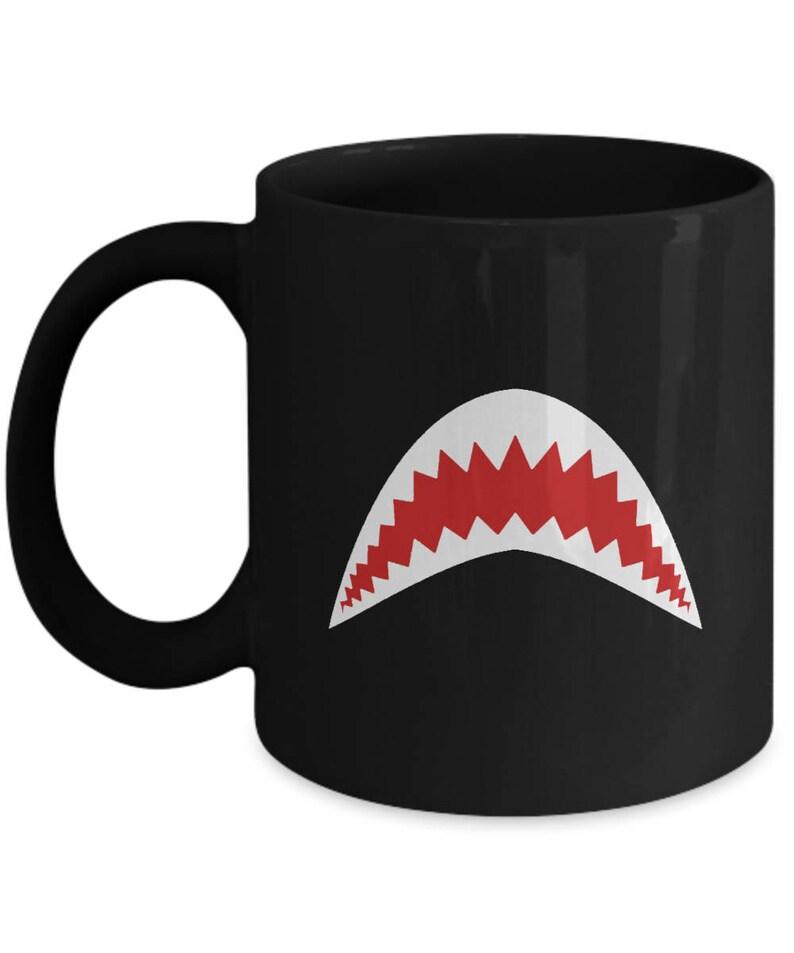 64211b9b64e Great White Shark Jaws Movie Funny Gift Coffee Cup Mug Week Sharks Gonna  Need a Bigger Boat