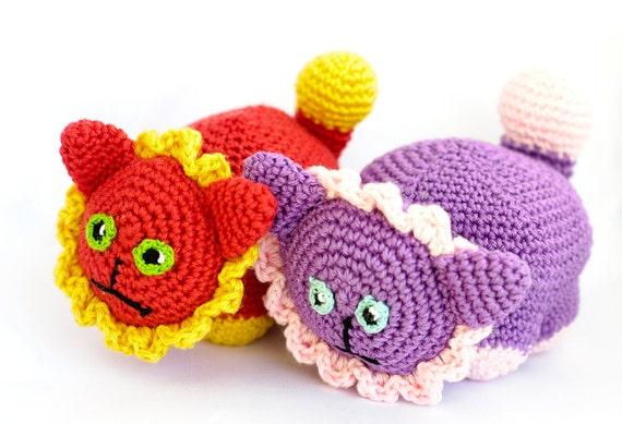 Amigurumi Crochet Pattern Quick Easy Toy Lion Instructions Etsy