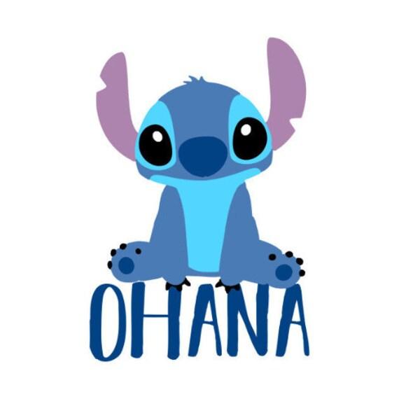 Disneys Lilo And Stitch Ohana Cute Kawaii