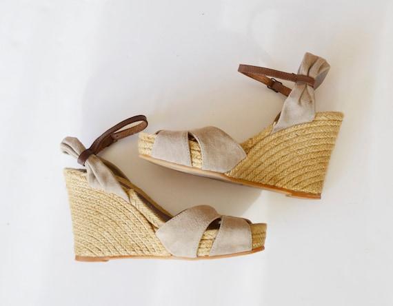 espadrilles with high heels, high espadrilles, pla