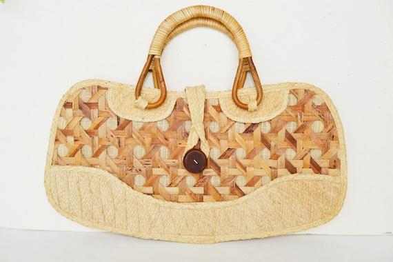 Straw bag, straw basket, straw shoulder bag,