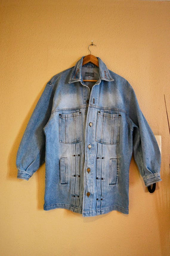 Vintage denim jacket, denim jacket, vintage jacket