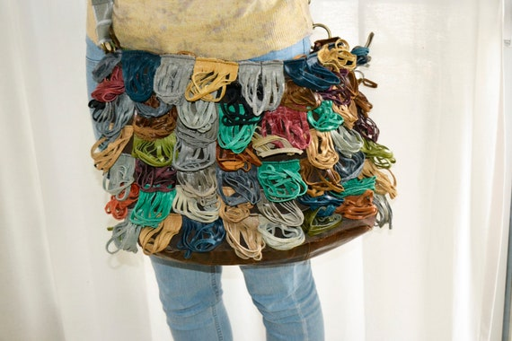 leather messenger bag, leather bag, colorful bag,