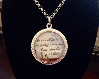 Diana Gabaldon inspired necklace