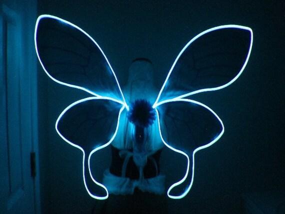 Benutzerdefinierte verträumte Rave Motte inspiriert Flügel mit   Etsy