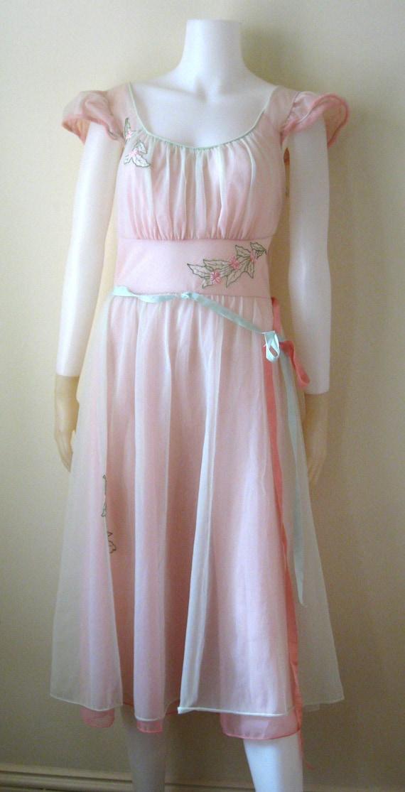 Vintage  1940's Nylon Luxite Pajama