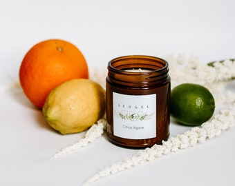 CITRUS AGAVE - Soy Candle