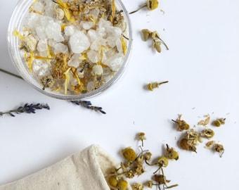 Skin Soothing Bath Tea - Organic Bath Tea - Organic Bath
