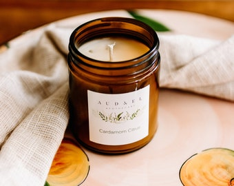 CARDAMOM CITRUS - Soy Candle