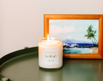 HIGH TIDE - Summer 2021 - Soy Candle