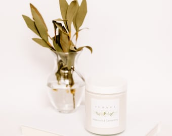 WATERMINT & CLEMENTINE - Summer 2021 - Soy Candle