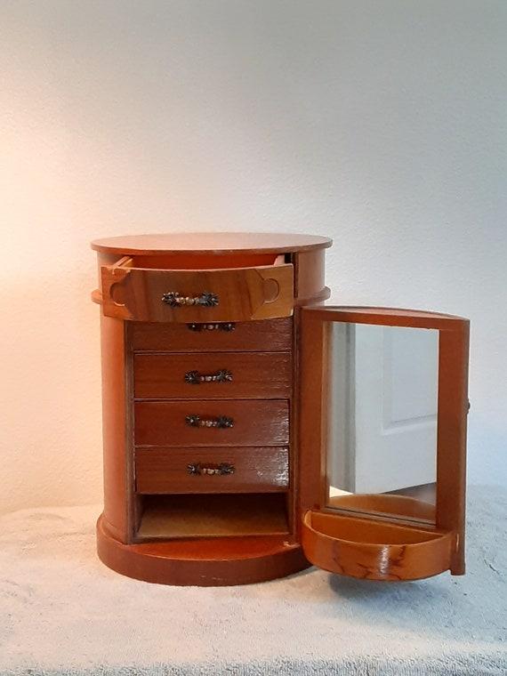 Jewelry Box -  Oak Jewelry Box - Wooden Jewelry Bo