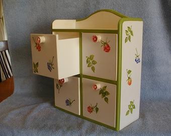Jewelry Box Keepsake Box Curio Box Hand Made And Painted