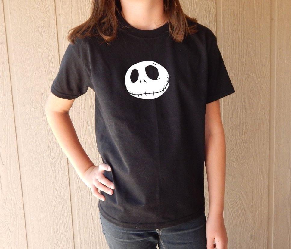 Kids Jack Skellington Nightmare before Christmas shirt | Etsy