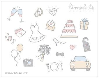 Wedding Stuff Clip Art
