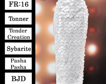 """AND 1//4 SCALE BJD SYBARITE,TONNER,FR16 MAGIC DRINK FOR 16/"""" FASHION DOLLS"""
