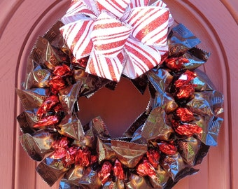 dark chocolate lover gourmet wreath gifts for her