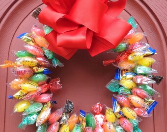 Candy Arrangement Sugar Free Gift Edible Wreath Centerpiece Unique Nursing Home Gifts Patient Ready to Ship Birthday