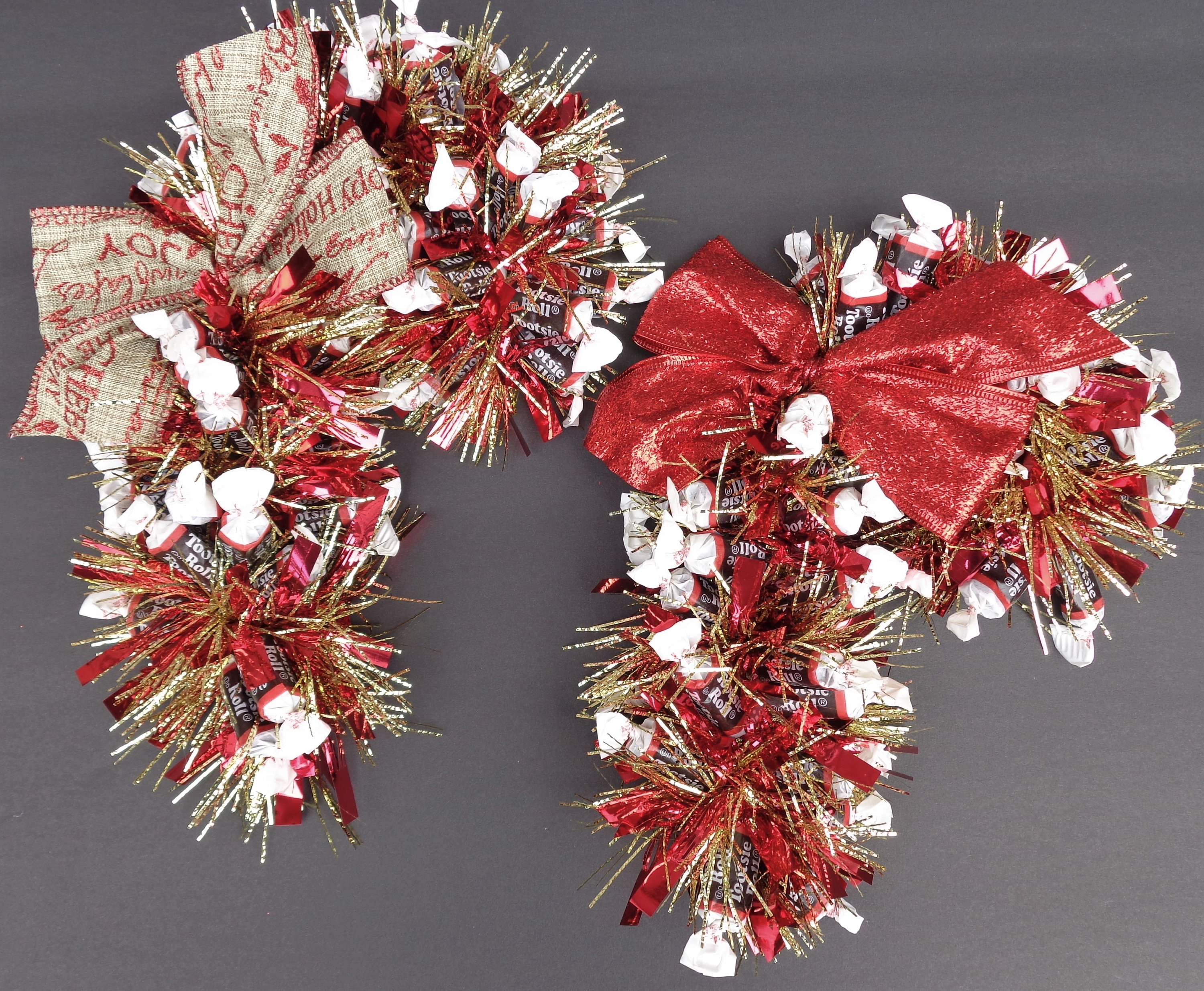 Chocolate Candy Cane Ready to Ship Hostess Gift Arrangement