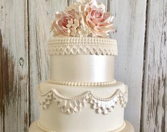 Fake Wedding Cake Etsy