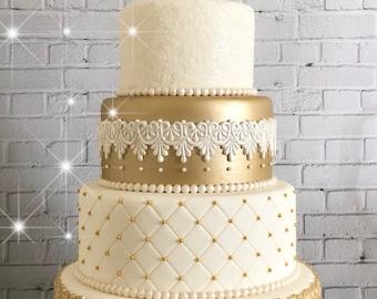 Faux Wedding Cake Etsy
