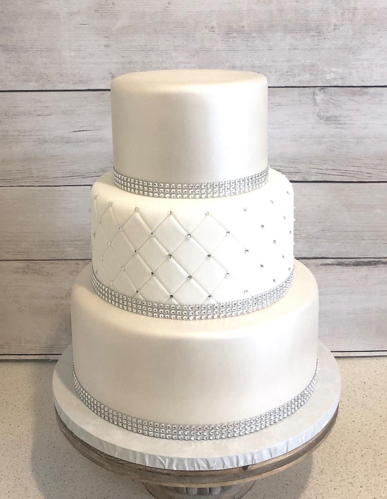 3 étages De Gâteau De Mariage Fondant Faux Gâteau De Mariage Gâteau De Mariage Faux Faux Gâteau