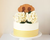 Custom Wedding Cake Topper, Bride and Groom on vespa, Silhouettes made from your photograph by Wedded Silhouette