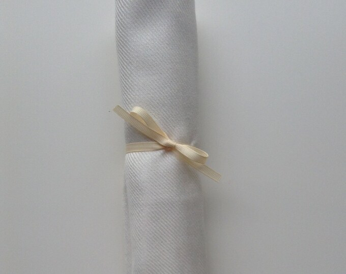 Pashmina, Ivory Shawl, Ivory Ribbon, 1, Pashmina, Scarf, Wedding Favors, Bridal Shower Favors, Bridesmaid Gift, Flower Girl Shawl, Pashminas