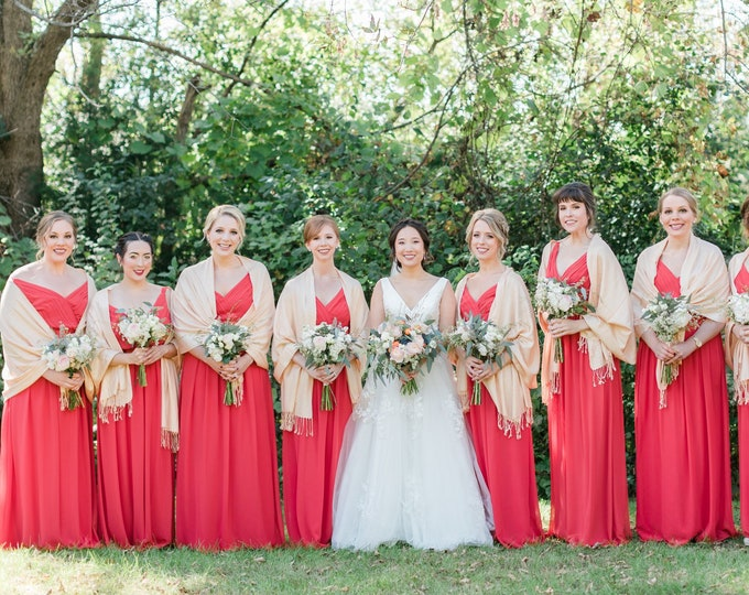 Pashmina, Pashminas, Scarf, Pashminas for weddings, Bridal Shawl, Shawls, scarfs, Wedding Favors, Bridesmaid Pashmina, Pashmina Shawls