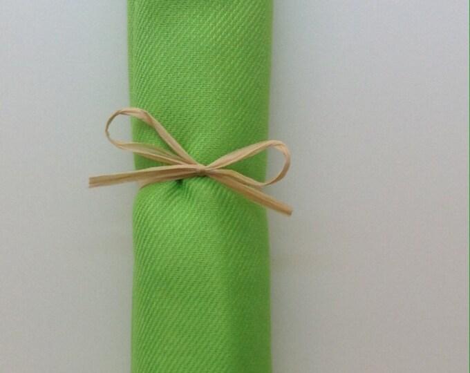 Sour Apple Green Shawl with Raffia Ribbon, 1, Pashmina, Scarf, Wedding Favors, Bridal Shower Gift, Bridesmaid Gift, Wraps, Wedding Keepsakes