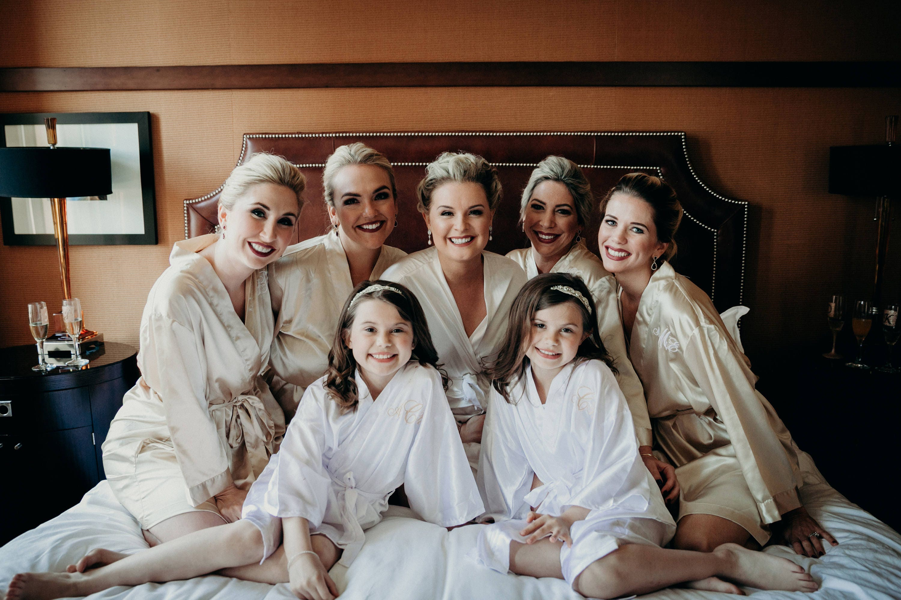 aeb5c1bdef ... Monogrammed Bridal Party Robes