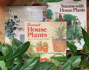 Brilliant House Plant Book Etsy Interior Design Ideas Clesiryabchikinfo