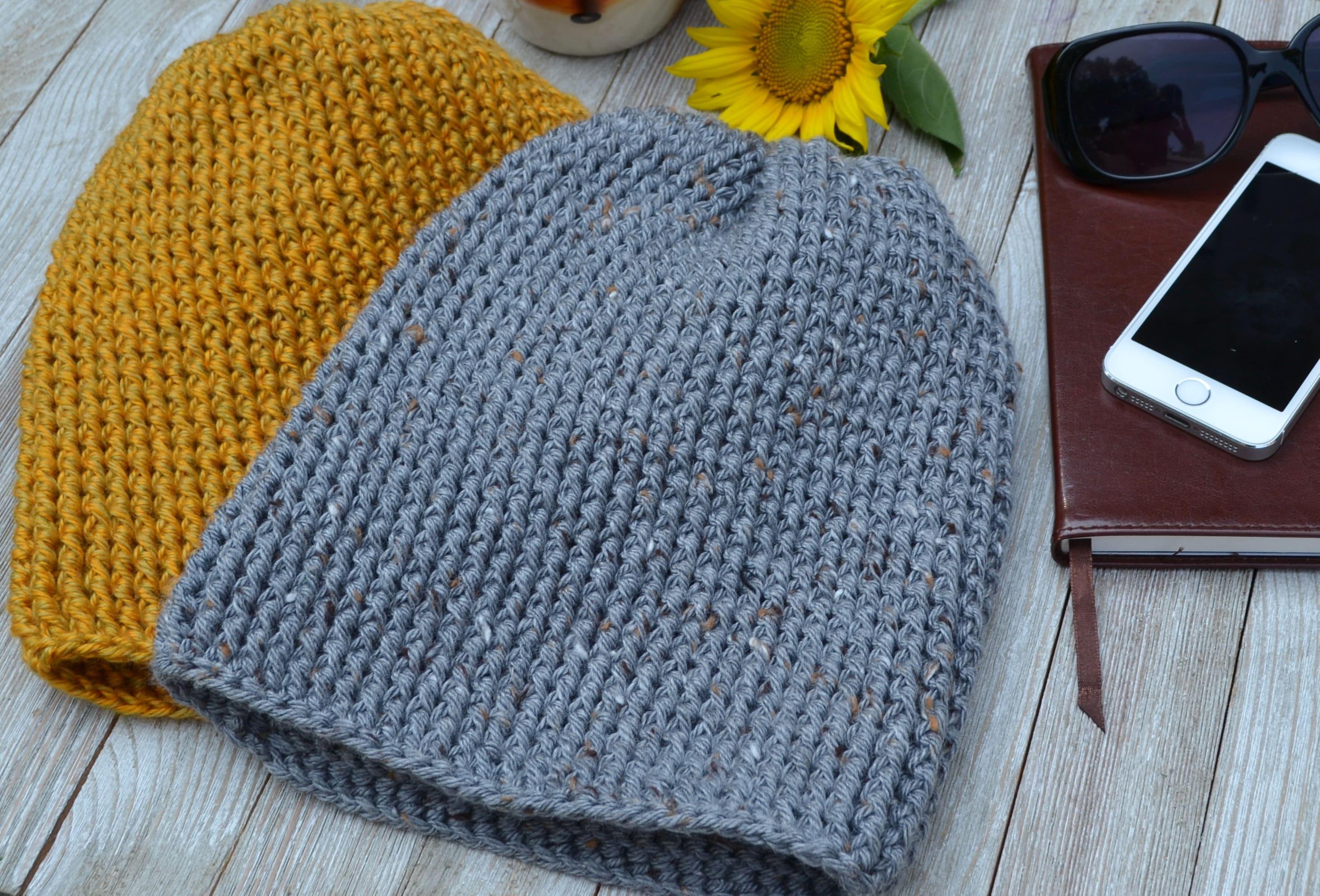 Crochet Pattern The Harvest Beanie Pdf File Crochet Beanie Etsy