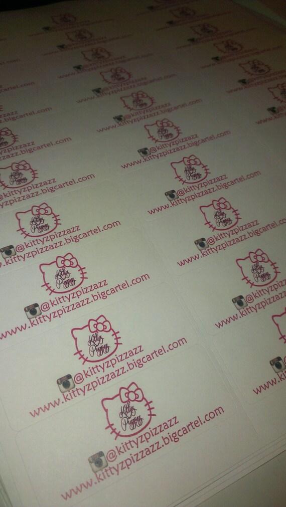 Étiquettes d'adresse Standard) de l'expéditeur personnalisé (taille Standard) d'adresse 680944