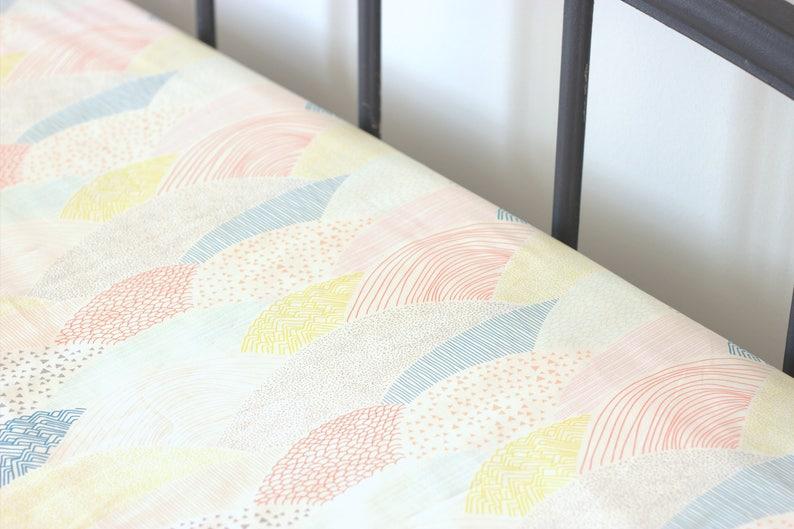 Crib Sheets Boy Crib Sheets Woodland Crib Sheets Neutral Fitted Crib Sheet Play Yard Sheet Pack n Play Sheet Fitted Crib Sheet Boy