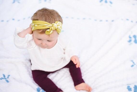 Top Knot Headband Top Knot Baby Headband Baby Headband Baby  3731b47da0f