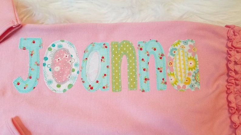 Newborn Hospital Set| Infant Gown Onesie aqua green white Newborn Infant Personalized Baby Pink Newborn Hat /& Gown| Name pink